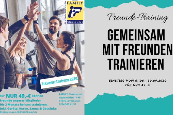 Freunde-Training 2020
